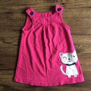 🌈3 for $13/ 12 months carters kitty dress